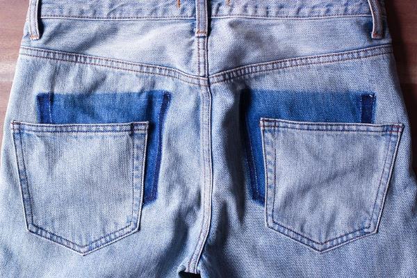 Идея модной переделки джинсов