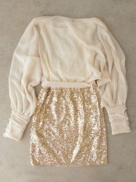 Блестящие новогодние наряды