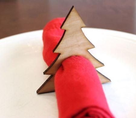 Идеи праздничного декора салфеток