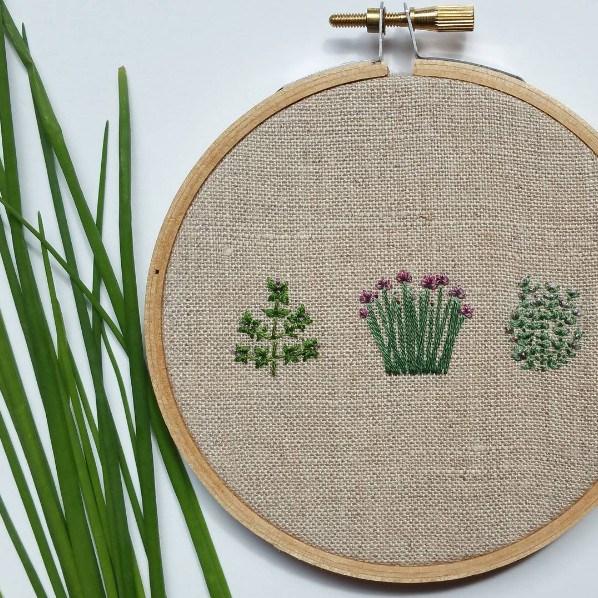 Идеи вышивки от @forestchorusstudio