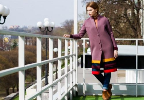 Яркое необычное пальто - mast have весеннего сезона
