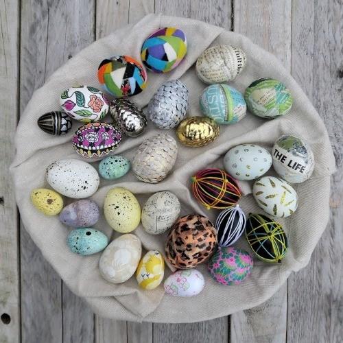 Идеи пасхального декора для дома: как покрасить яйца и украшения для дома к Пасхе