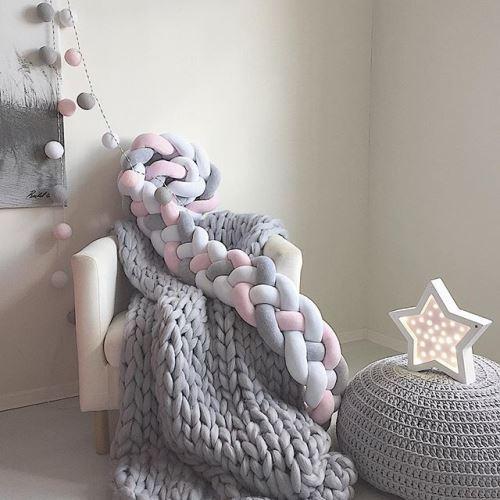 Зефирный текстильный декор от Why-Knot