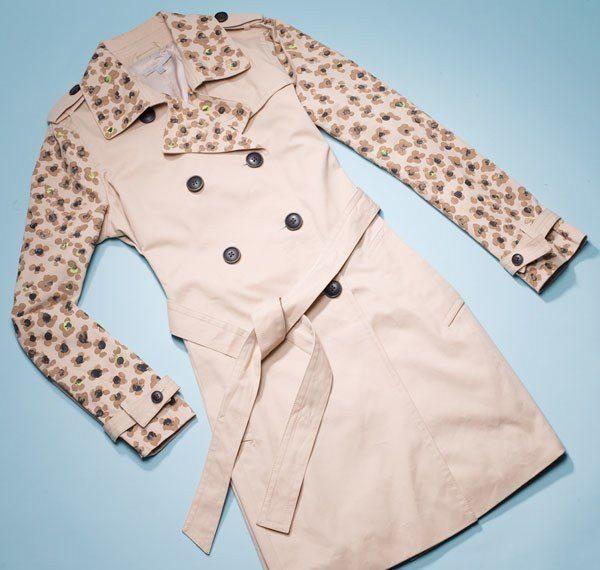 8 идей как обновить плащ или пальто