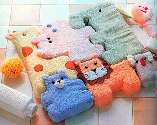 Детский коврик-пазл из игрушек