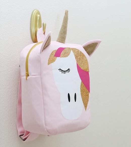"""UNICORN BACKPACK. Как сшить рюкзак """"Единорог"""" для девочки"""