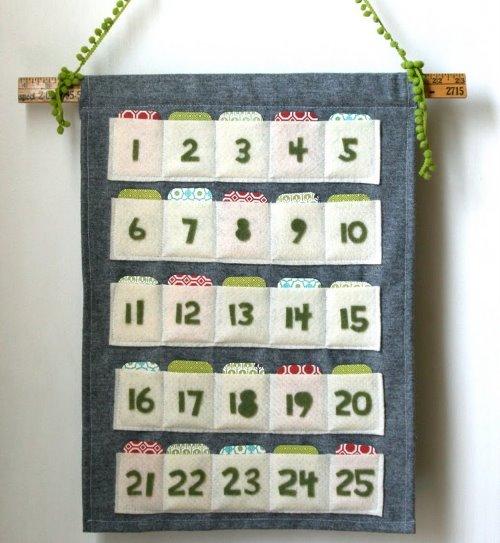 26 идей новогоднего адвент-календаря