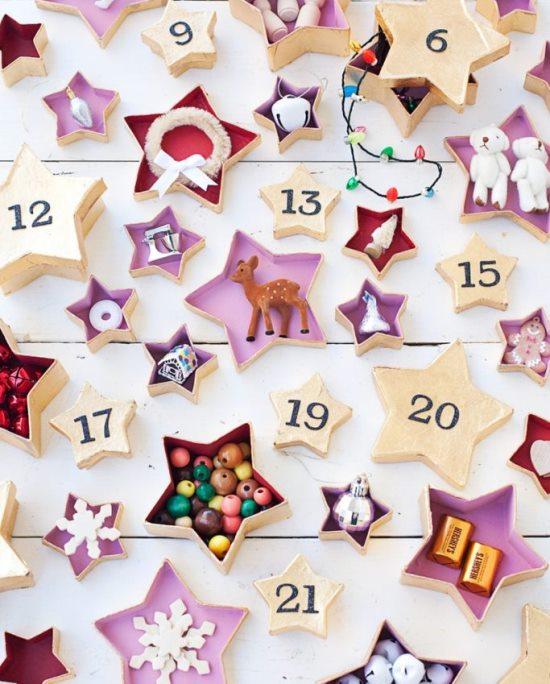 27 идей новогоднего адвент-календаря
