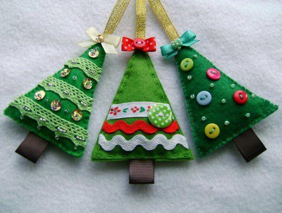Новогодние игрушки своими руками из фетра, бисера и проволоки