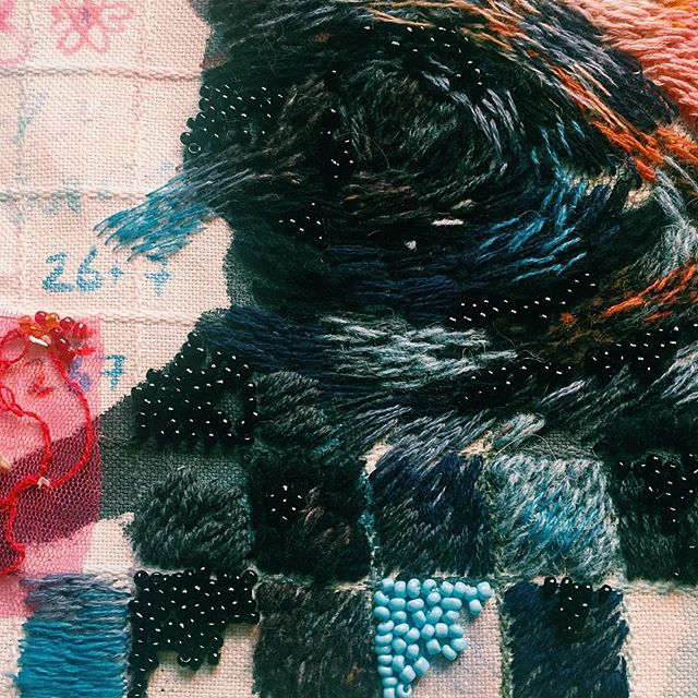 Удивительная вышивка Лизы Смирновой. 64 фото
