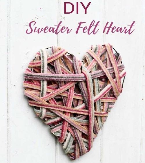 65 красивых рукодельных идей к Дню Святого Валентина