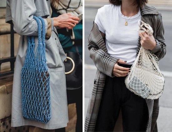 982a1bc72a1b Мода на сумки-авоськи. Как связать авоську своими руками. Где купить ...