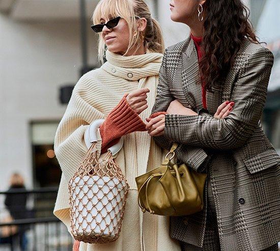 Мода на сумки-авоськи.