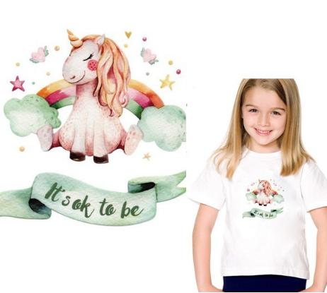 Обновляем футболки и свитшоты! 20 красивых наборов термонаклеек для одежды