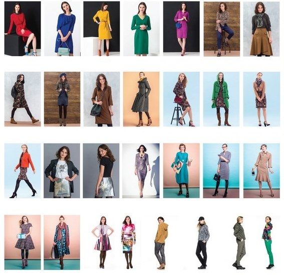 Парад моделей журнала Susanna MODEN KNIP 10/2018