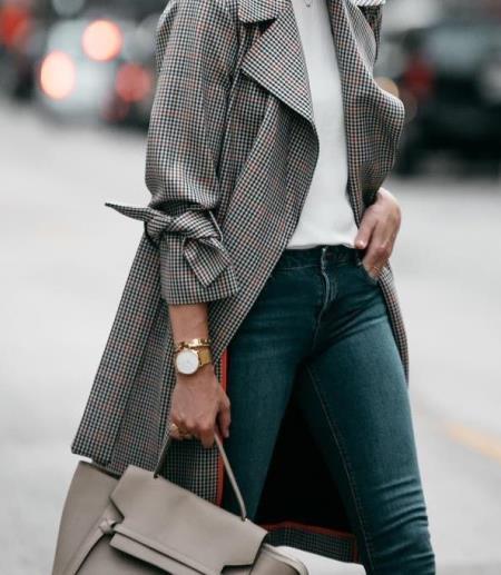 Клетчатое пальто — хит сезона и вещь на все времена