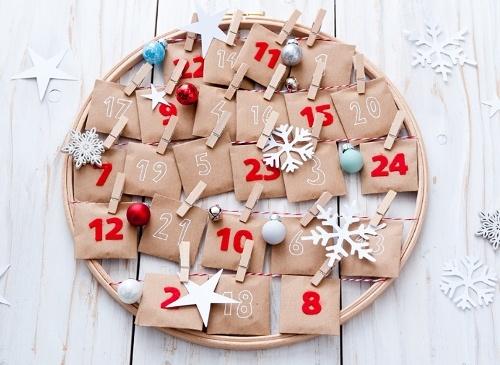 30 идей новогоднего адвент-календаря