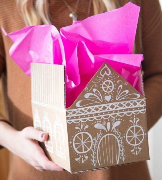 45 крутых идей как упаковать новогодний подарок
