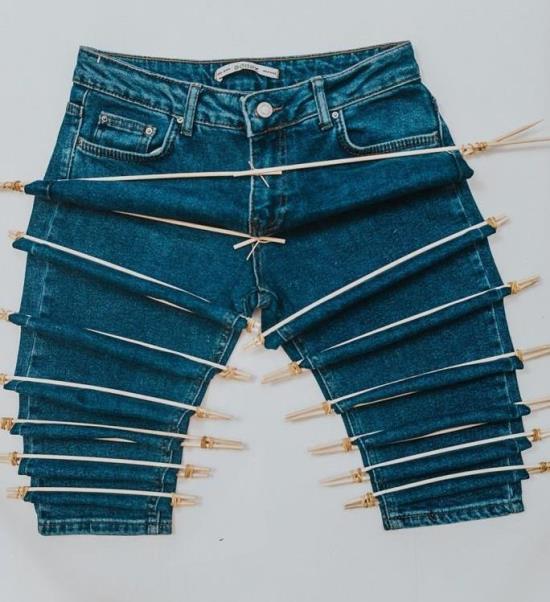 Как модно высветлить джинсы