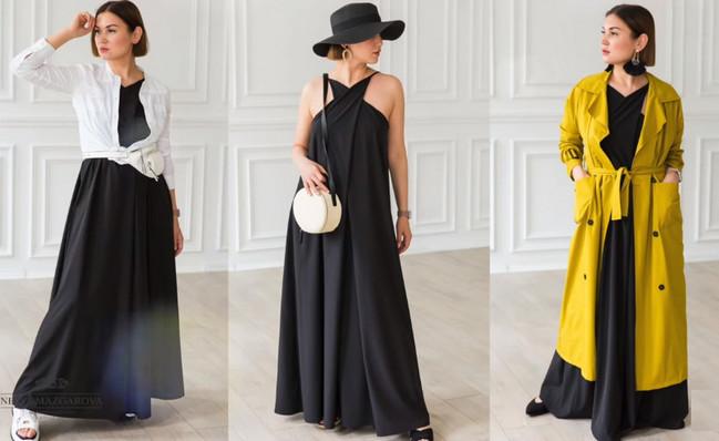 Платье за 2 часа по трем меркам от Нели Мазгаровой