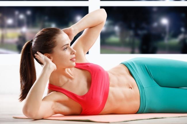 Упражнения для плоского живота – залог красивой фигуры