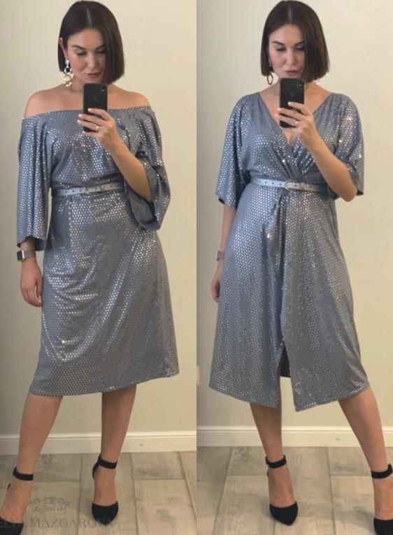 Как сшить платье «YES» за час