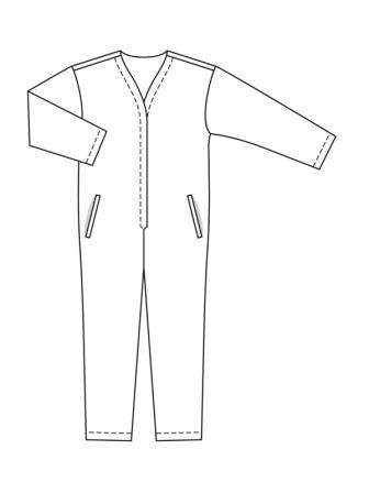 Технические рисунки Бурда 4 2020