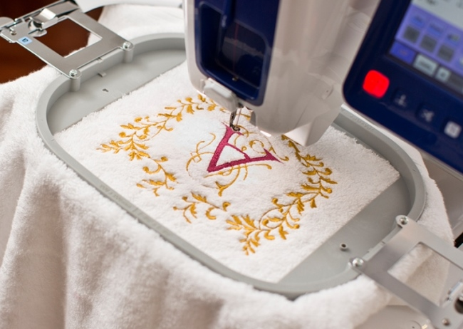 Преимущества использования вышивальных машин