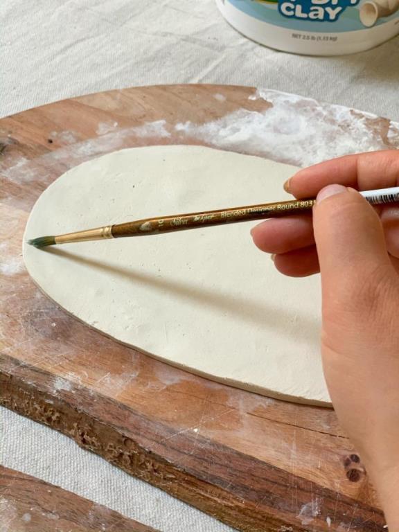 Стильная тарелка для украшений своими руками