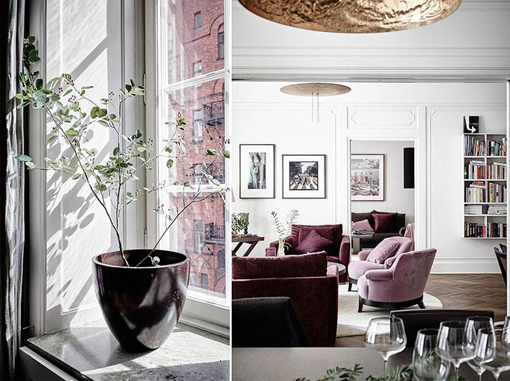 Изысканность в интерьере квартиры