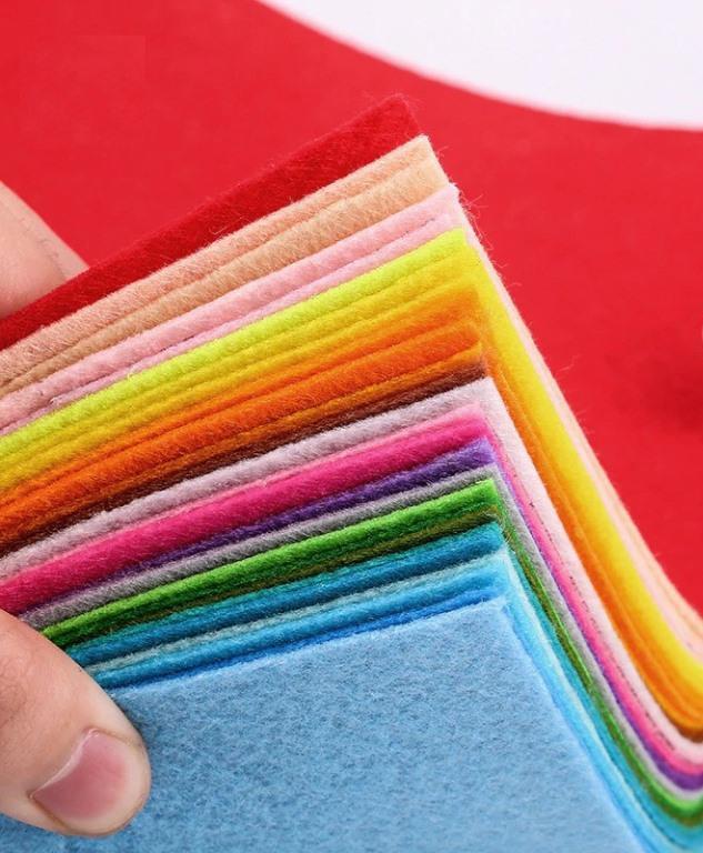 Разноцветный фетр на Алиэкспресс