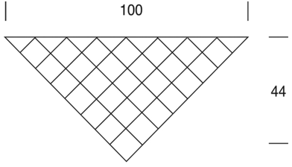 Стильный платок из «бабушкиных квадратов»