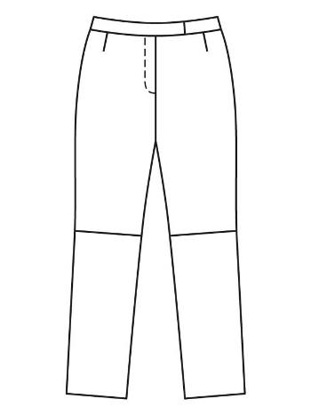 технические рисунки журнала BURDA за ноябрь 11 2021