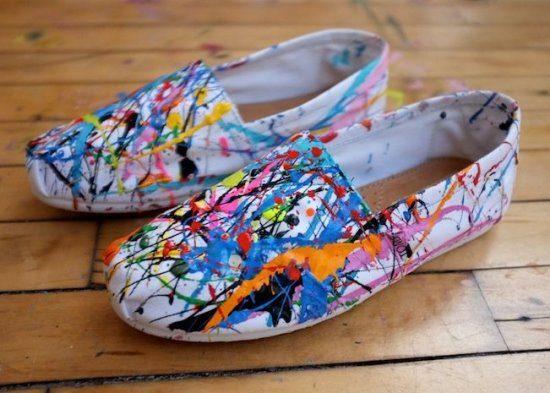 переделать обувь, украсить обувь, обувь своими руками, переделываем вещи, полезное рукоделие