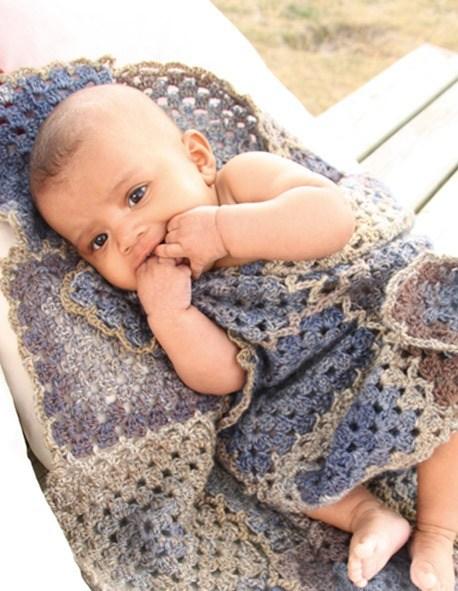Детские вязаные пледы: 37 идей