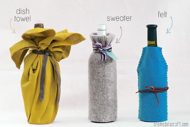 Как упаковать бутылку вина: 3 идеи Отлично. Школа моды, декора и актуального рукоделия