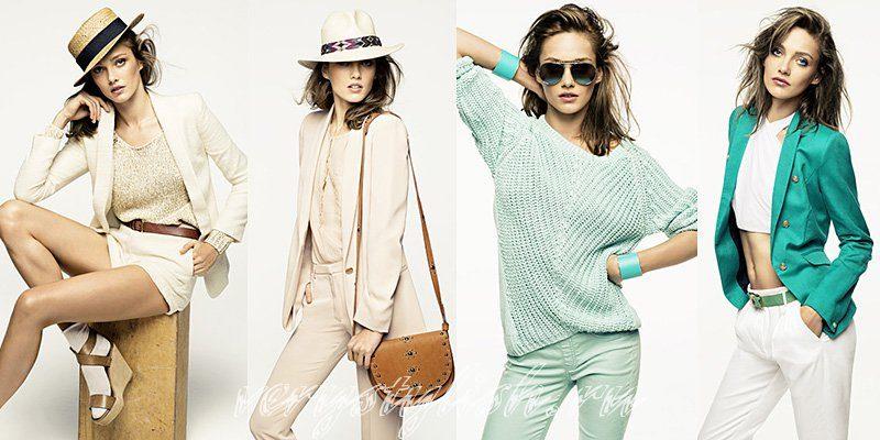 что носить летом, тенденции моды весна лето, модные показы,