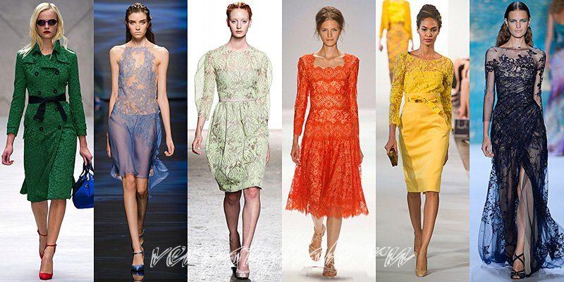 модные показы, тенденции моды весна лето, что носить летом