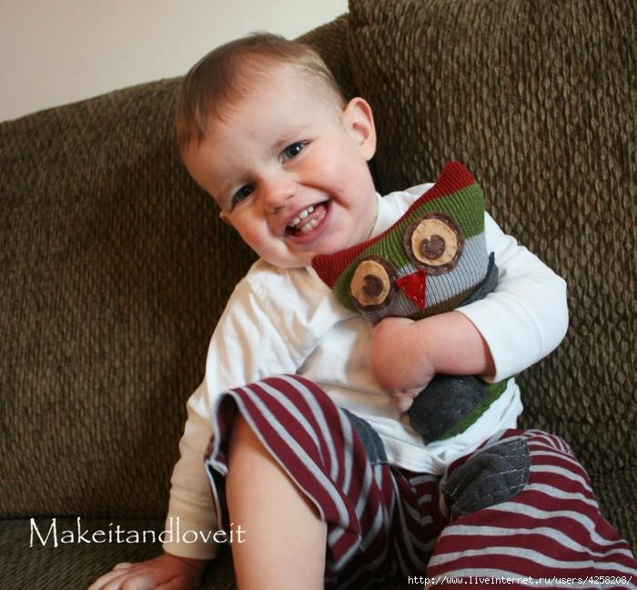 Игрушки для детей своими руками, переделываем вещи