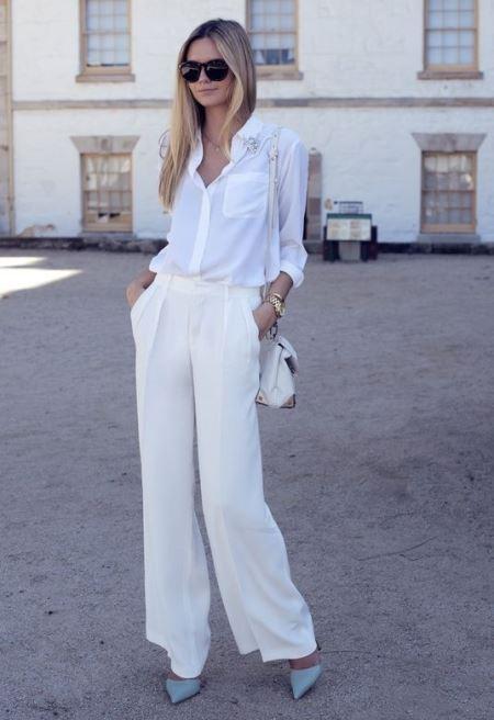 монохромная одежда, стильный образ, street style, модные тенденции, тенденции моды весна лето, что носить летом, что носить весной,