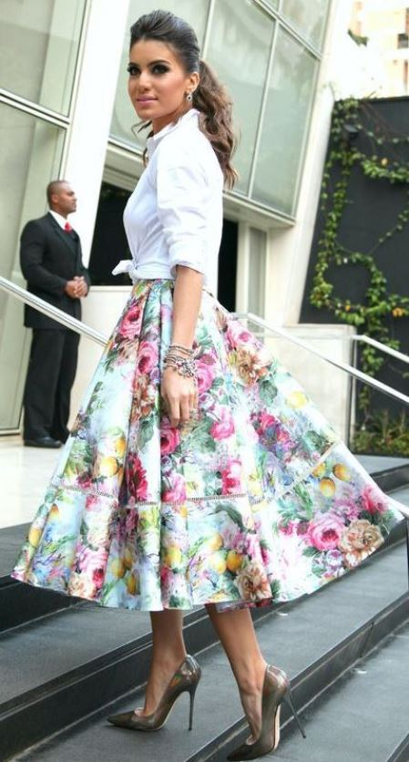 модные юбки, юбка миди, street style, тенденции моды весна лето, что носить летом, что носить весной,