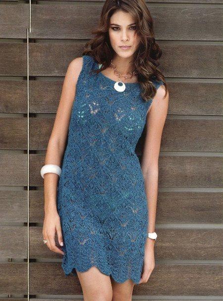 вязаное ажурное платье футляр, вязание, вязание для женщин, вязание спицами, вязание спицами туники платья, вязаные платья со схемами, платье своими руками,