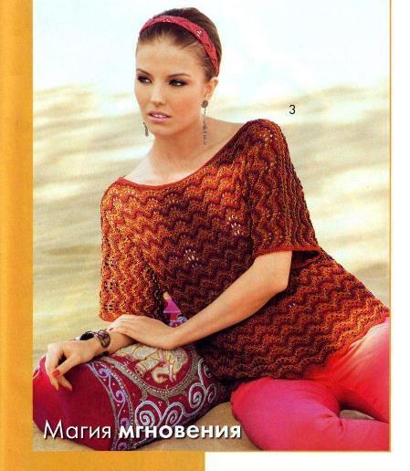 Модели вязания из журнала вязание наше хобб 33