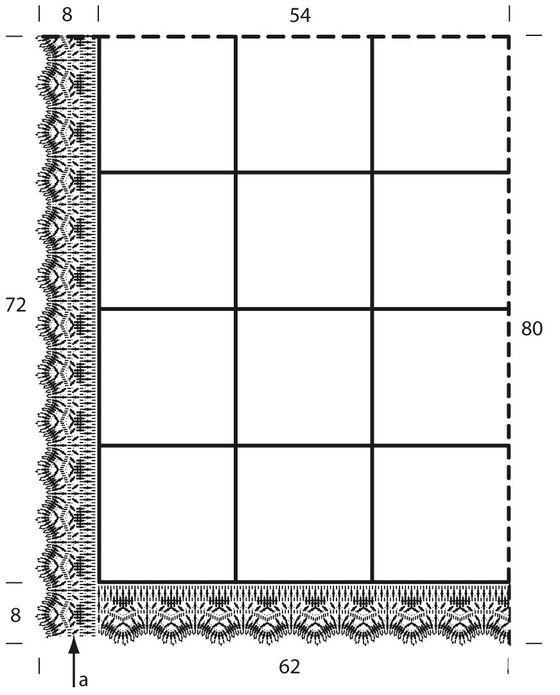 схема вязания пледа крючом
