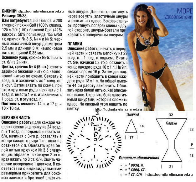 вязание для пляжа, схемы вязания крючком с описанием, вязание схемы модели для женщин,