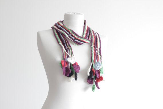 width=Вязаные ожерелья: шарфы или украшения...blank width=img alt=/a height=Вязаные ожерелья: шарфы или украшения...